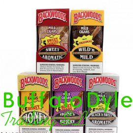 BACKWOODS AUTHENTIC CIGARS – 8 PACKS OF 5 (40 CIGARS)