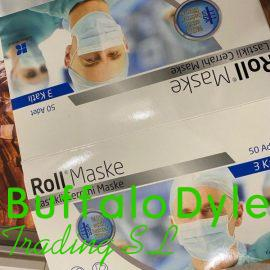 BUY DISPOSABLE SURGICAL FACE MASK (ROLL MASKE) WHOLESALE