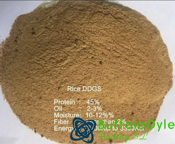RICE DDGS FEED FOR SALE
